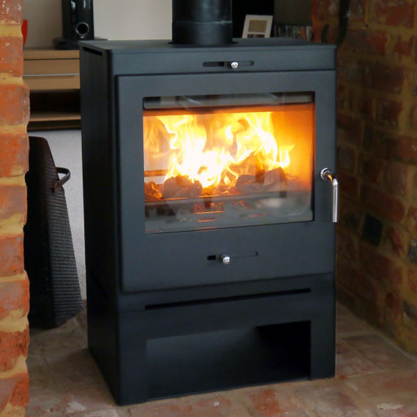 Bohemia 60 Cube Wood Burning And Multi Fuel Stove Double