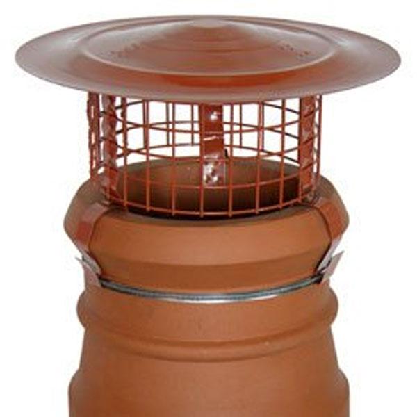 Hi Top Bonnet Birdguard Chimney Cowl Solid Fuel