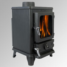 Wood burning stoves and multi fuel stoves 4kw for Salamander stoves