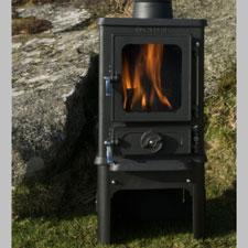 Salamander Hobbit Wood Burning And Multi Fuel Stove 4kw