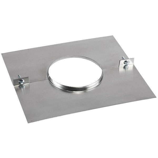 Gas Flue Liner Combined Plate And Clamp 150mm 6 Inch