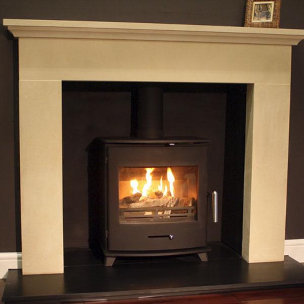 Newbourne 40fs Ecodesign Wood Burning And Multi Fuel Stove