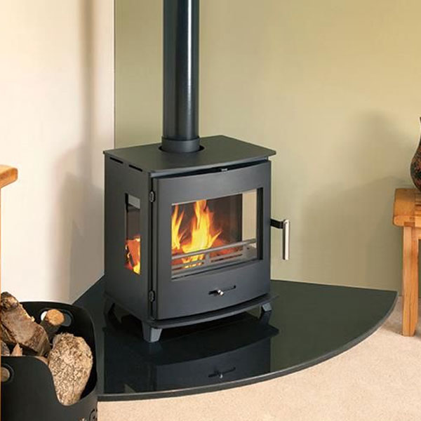Newbourne 40fs Panorama Wood Burning And Multi Fuel Stove