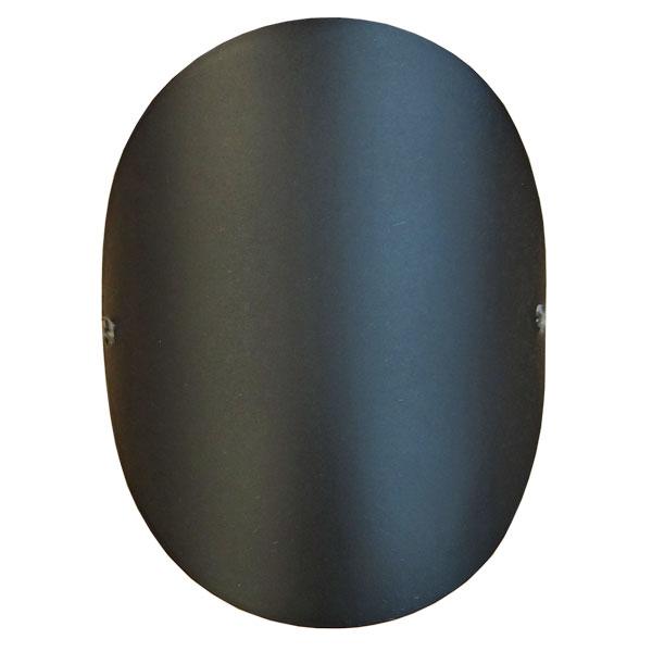Stove Pipe 150mm Matt Black Access Door