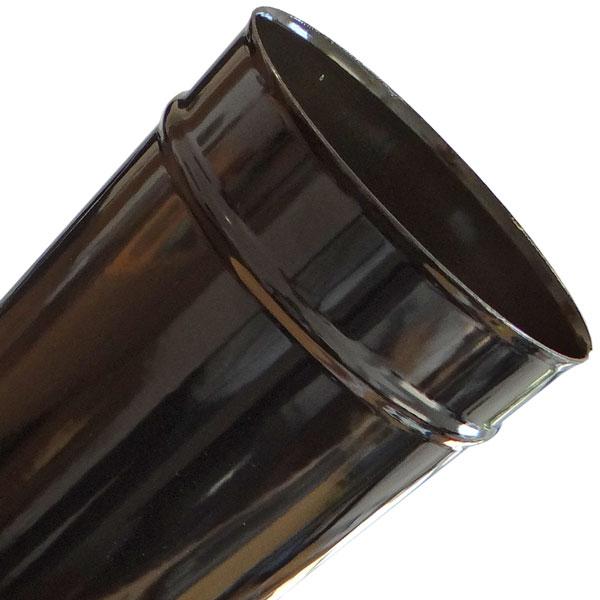 Stove Pipe Flue pipe length 250 mm ø150mm gußgrau