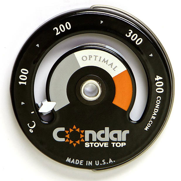 Stove Top Thermometer Magnetic Condar